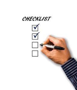 Krimidinner download checkliste