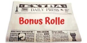 Gratis Bonus Rolle für einen zusätzlichen Spieler