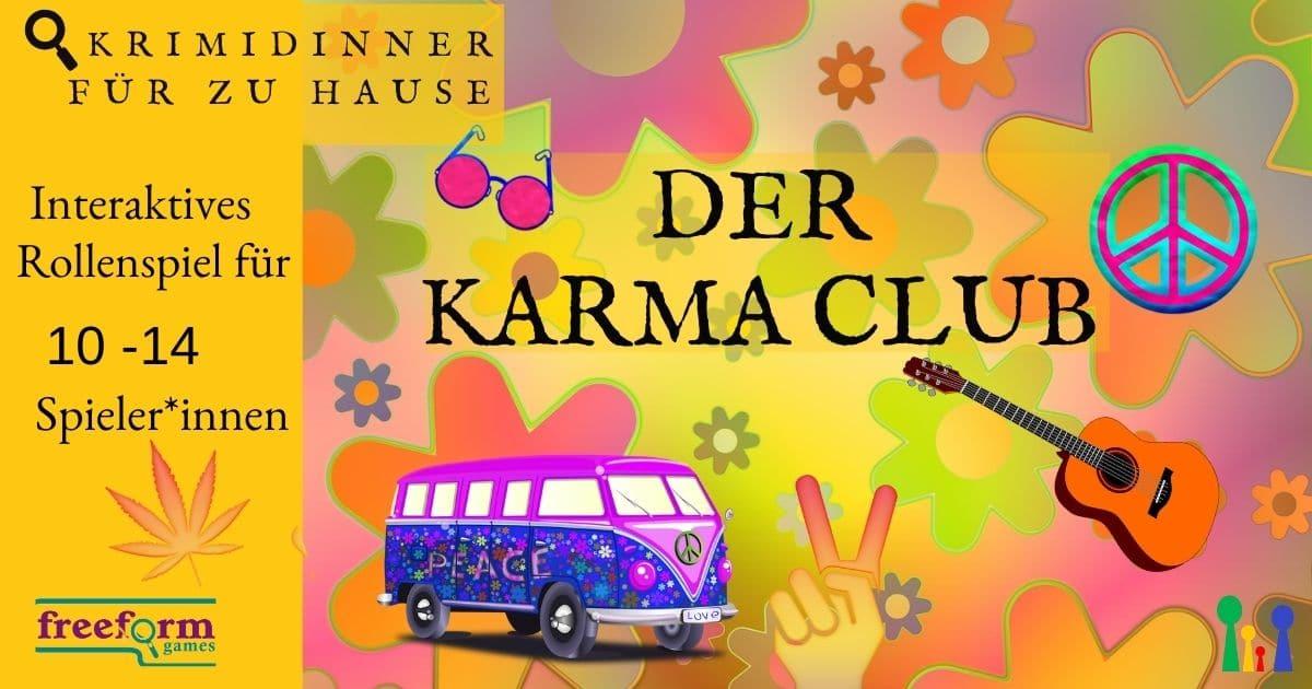 Der Karma Club - interaktives Krimispiel für 10-14 Spieler*innen