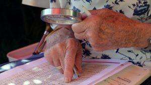 Spiele für Senioren erfordert großes Spielermaterial